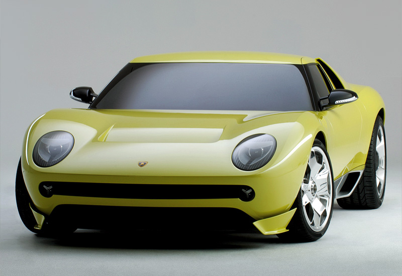 2006 Lamborghini Miura Concept; top car design rating and specifications