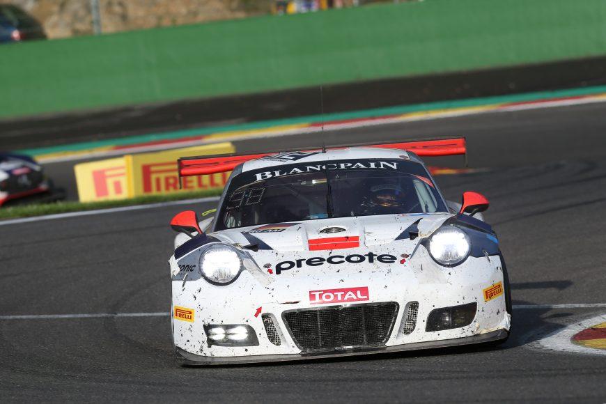 Porsche 911 GT3 R (912), Herberth Motorsport: Daniel Allemann, Ralf Bohn, Sven Müller, Mathieu Jaminet
