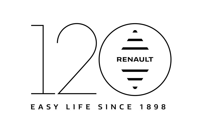 120 years of Renault Logo