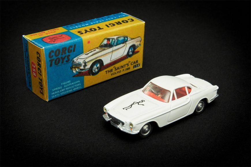 """The Saint"" Corgi Toys Modellauto vom Volvo P1800 aus der Fernsehserie ""Simon Templar"""