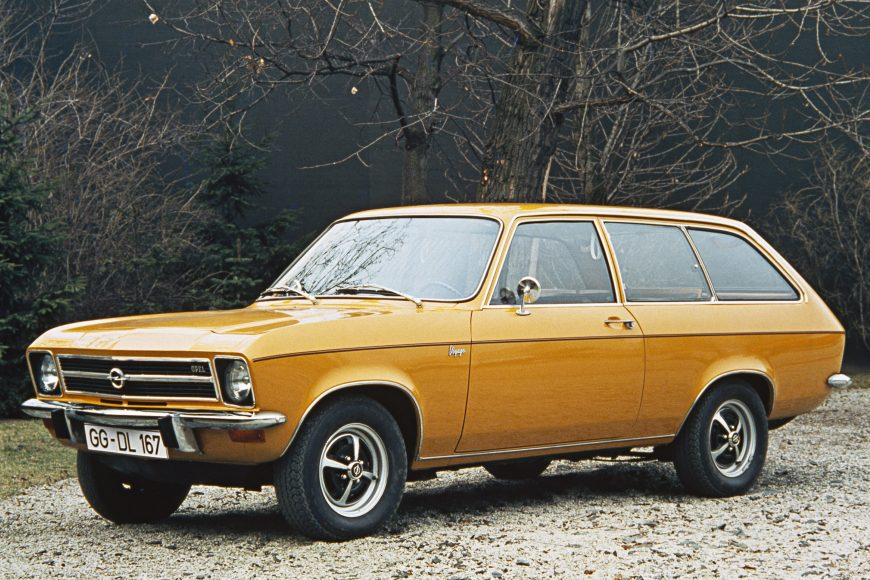 Shooting brake: 1971 Opel Ascona A Voyage.