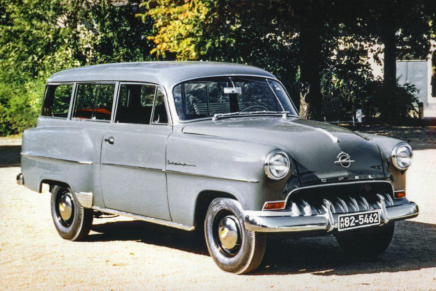 Pioneer: 1953 Opel Olympia Rekord Caravan.