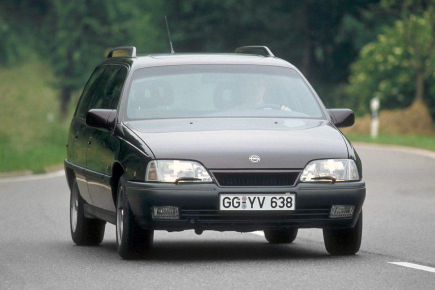 Aerodynamic: 1990 Opel Omega A Caravan.